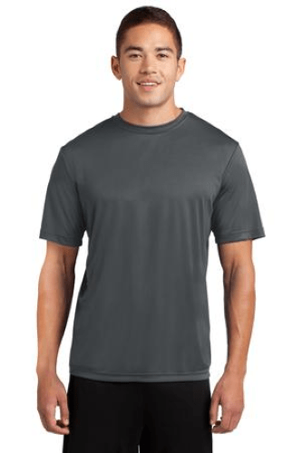 PosiCharge Competitor Tee ST350-Iron Grey-XS