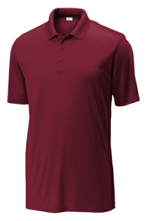 Sport-tek PosiCharge Competitor Polo ST550-Maroon-XS