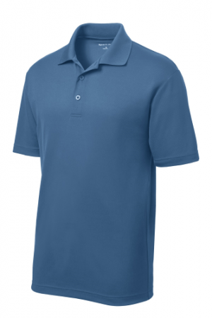 PosiCharge RacerMesh Polo ST640-Dawn Blue-XS